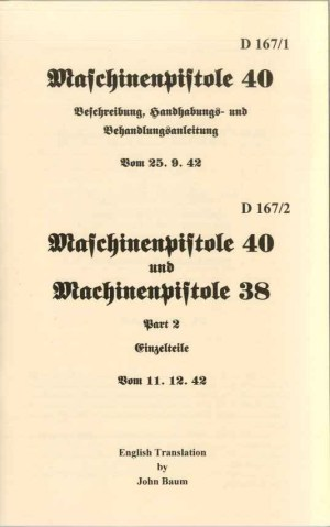 MP38/40 Operators Manuals