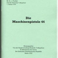 The Machine Pistol 44 Manuel