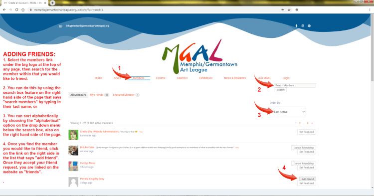 How To Add Friends on MGAL