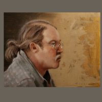 Tommy Williamson ca 2008 14×18 oil on canvas panel