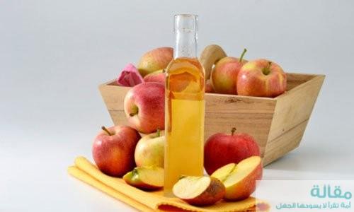 اهم المعلوكمات الرائعه عن خل التفاح