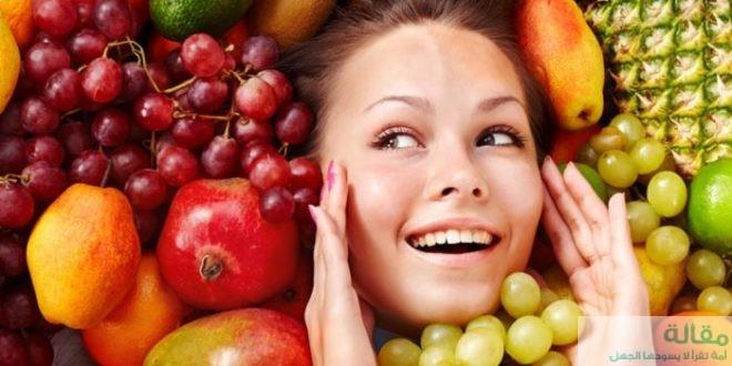 تعرفي علي المأكولات التي تؤثر علي صحة البشرة