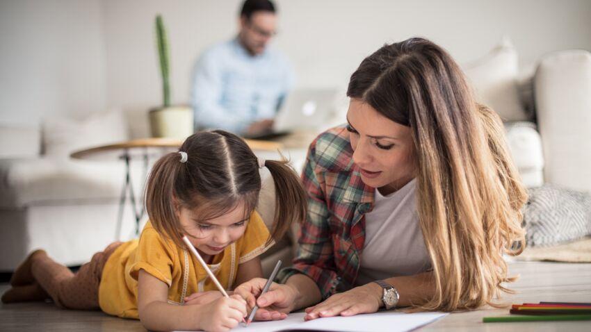 ما أثر الحجز الأول على المستوى التعليمي للأطفال؟