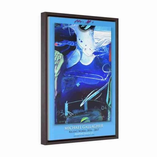 Vertical Framed Premium Gallery Wrap Canvas 2