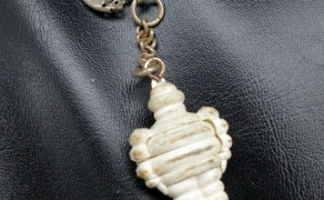 A very cool Michelin Man key chain