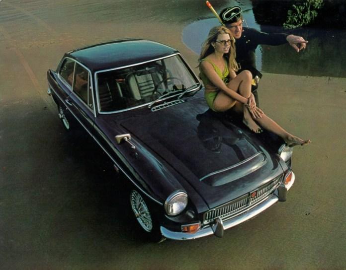 MGB GT V8 James Bond?
