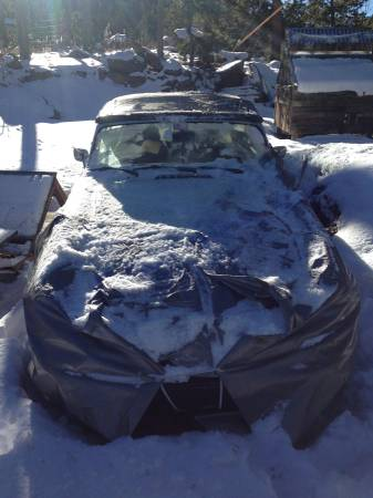 Ugly snow covered Craigslist MGB