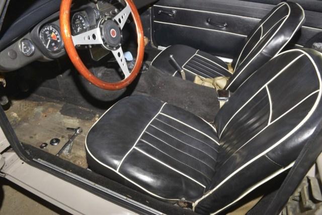 1967 MGB GT original low back seats