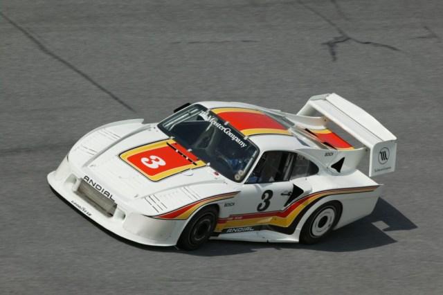Howard Meister Porsche 934, behind an MG?