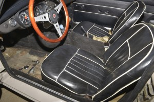 The original 1967 MGB GT seats