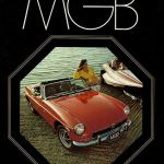MG MGB Roadster 1972 brochure cover