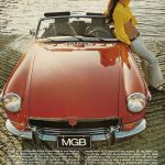 MG MGB Roadster 1972 brochure