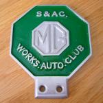 MG S & AC. Works Auto Club