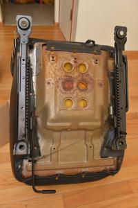 Mazda Miata seat ready for modification