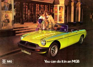 You can do it in an MG