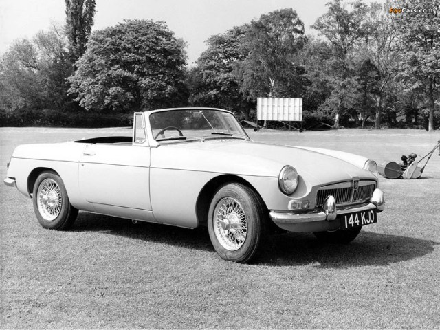 1962 MG MGB promo photo