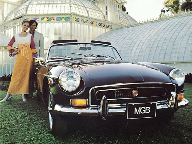 1970 MGB Roadster promo photo
