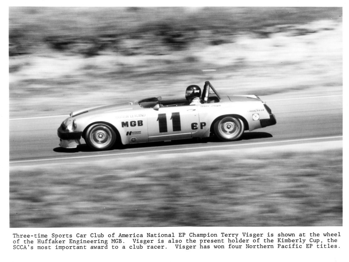 BL Motorsports Huffaker MGB driven by Terry Visgar | 1967 MGB GT
