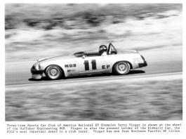 BL Motorsports Huffaker MGB driven by Terry Visgar