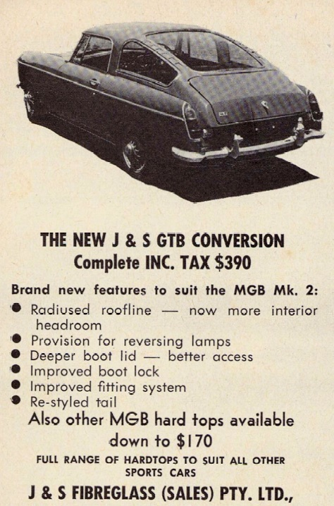 J & S MG GTB conversion