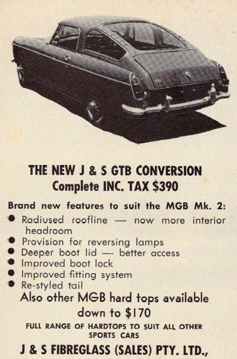 J & S MG GTB conversion