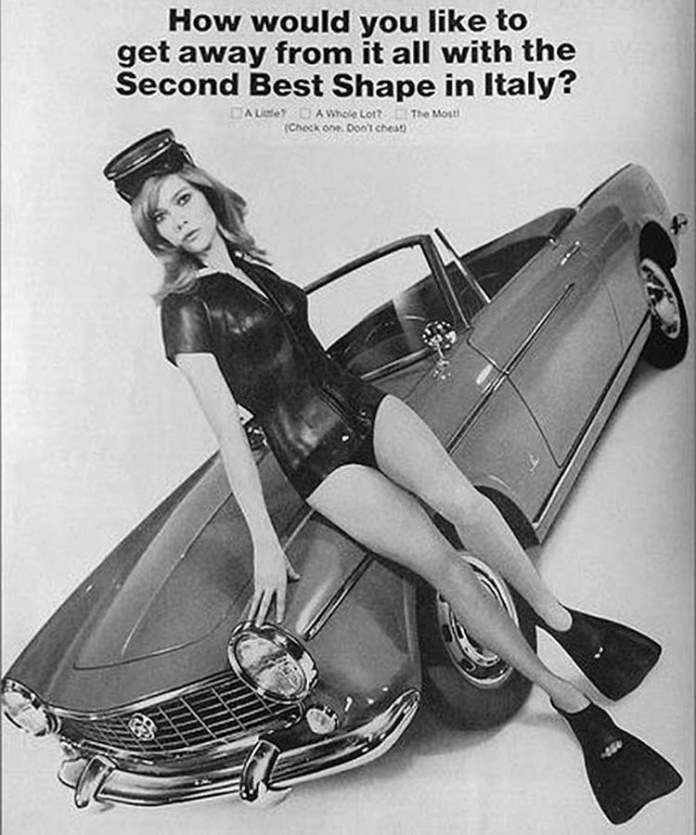 How would you like to get away from it all with the Second Best Shape in Italy? A Little? A Whole Lot? The Most! (Check one. Don't cheat)