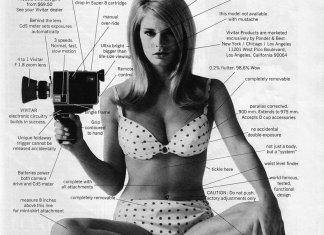 Vivitar Super 8 camera sexist ad