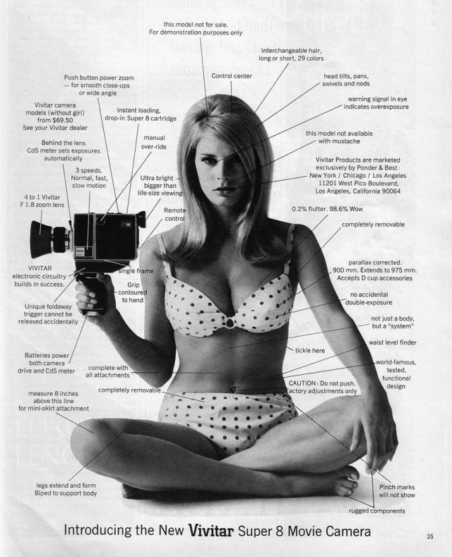 Vivitar Super 8 camera