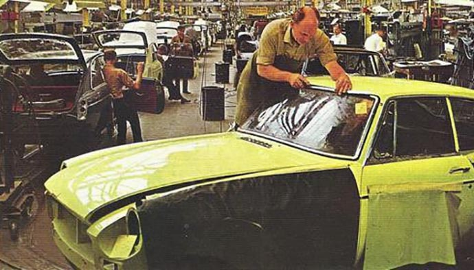 Installing MGB GT windshield rubber glazing