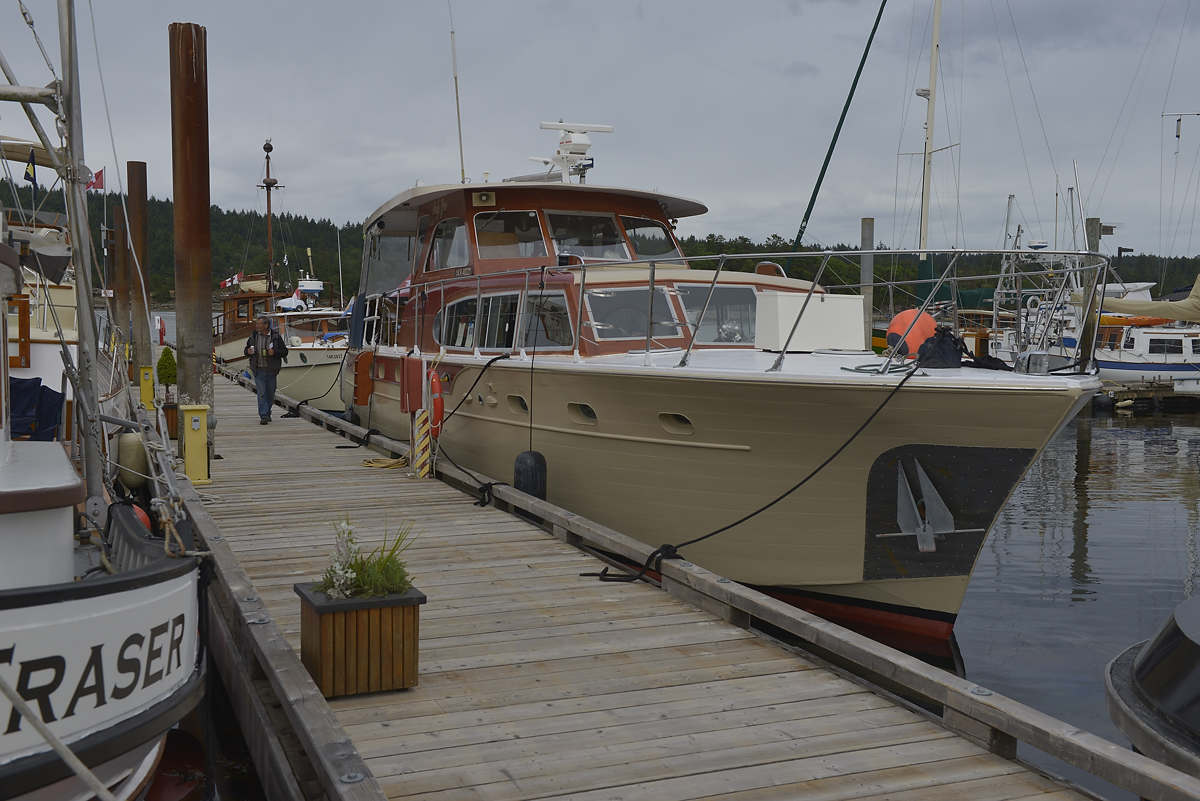 Fraser, an old west coast trawler