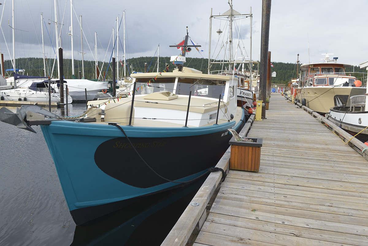 Fraser, an old west coast trawler