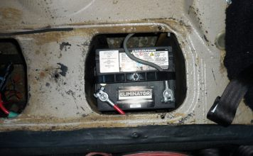 New 26R battery for MGB GT