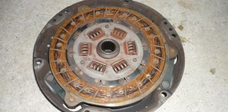MGB clutch disc and pressure plate