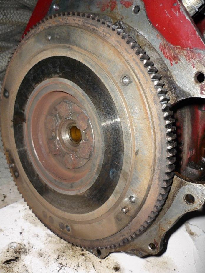 1967 MGB flywheel