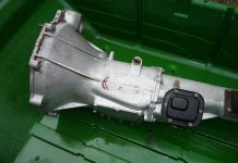 Very pretty MGB GT gearbox