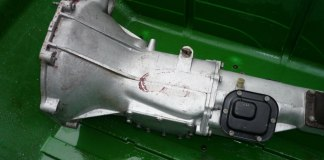 Very pretty MGB GT gearbox