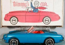 Ideal Tammy's Car MGB roadster