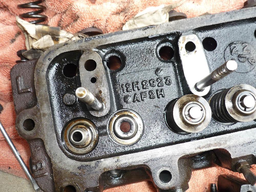 1972 Mgb 12h2923 Cylinder Head Removal 1967 Mgb Gt
