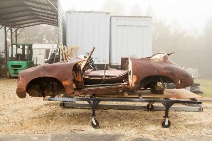 Porsche 356B wreck on Craigslist