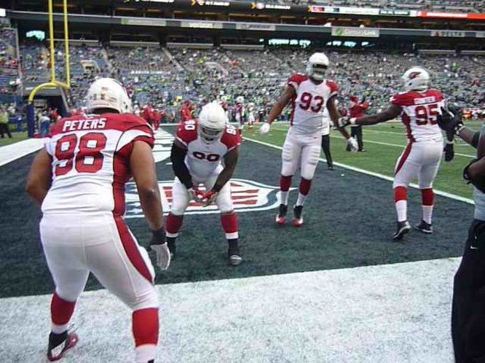 Arizona Cardinals kicked Seattle butt