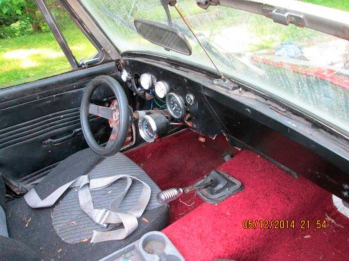 Craigslist MGB rat rod interior