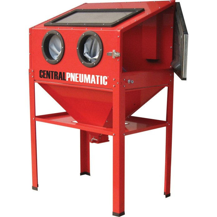 Harbor Freight Media Blasting Cabinet