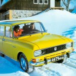 Lada Niva, are they going in reverse?