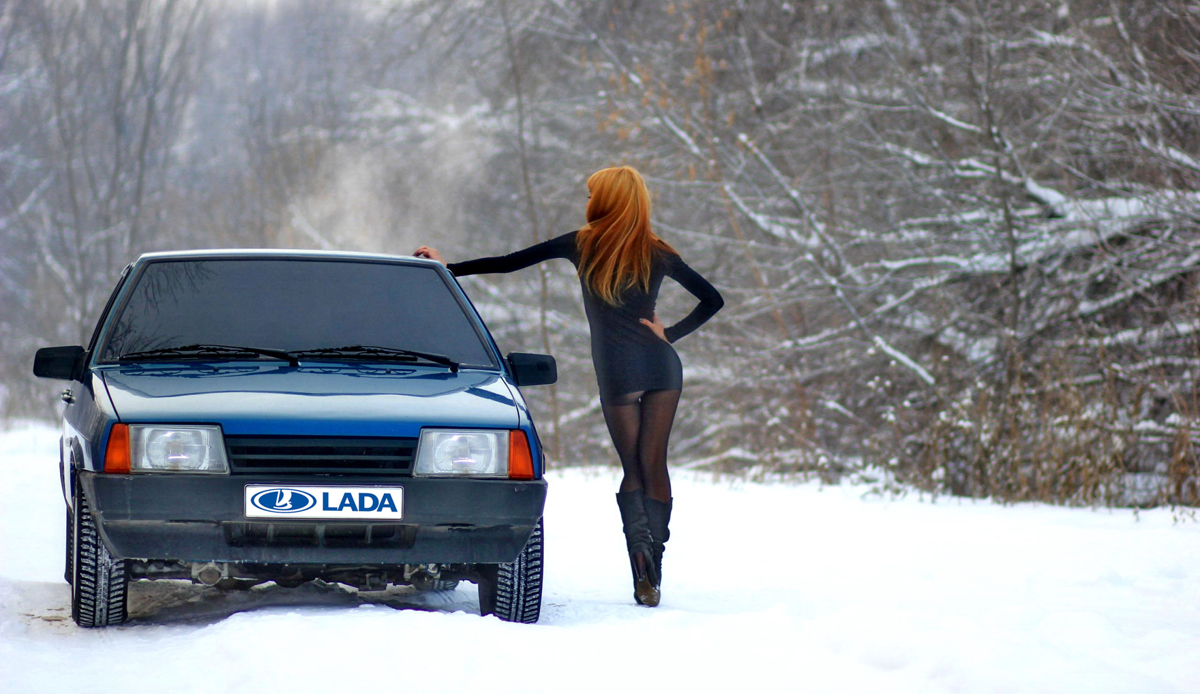 Lada girl bling for the holidays