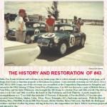 Sebring MGA restoration