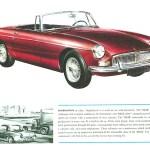 1962 MGB Roadster brochure