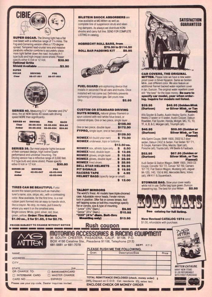 MG Mitten 1974