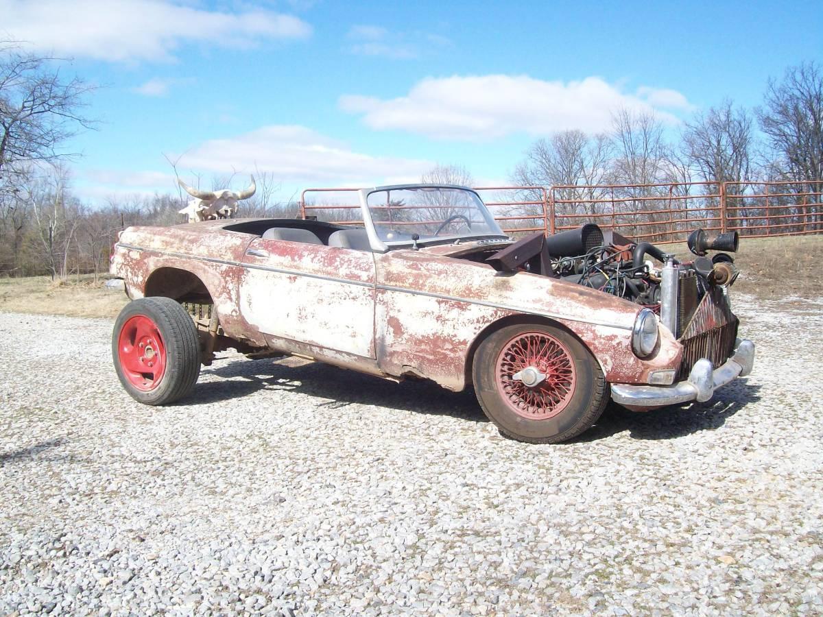 Craigslist 1964 MG MGB Rat Rod – WTF | 1967 MGB GT