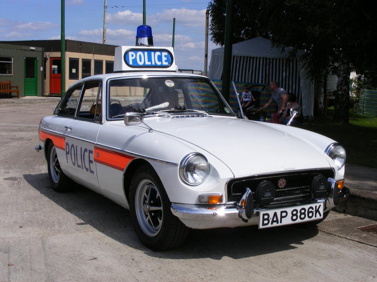 Mgb Gt Police Car 1967 Mgb Gt