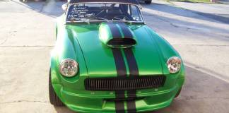 Craigslist 1974 mgb roadster 383 stroker engine turbo